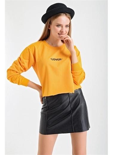 Şimal Sweatshirt Hardal